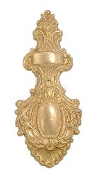 "11 1/4"" Victorian Style, Cast Brass Back Plate"