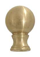 "1"" Brass Ball Finial"