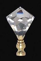 "2 7/8"" Lead Crystal Finial"
