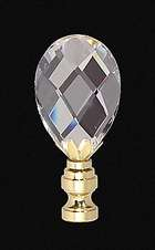 "2 3/4"" Lead Crystal Finial"