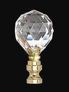 "2 1/4"" Crystal Finial"