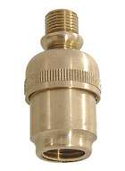 "Medium Brass Swivel, 1 5/8"" ht."