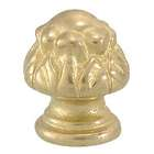 "1 3/16"" Die Cast Brass Finial Bud"