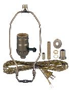 make a lamp kits b p lamp supply rh bplampsupply com swag lamp cord kit Westinghouse Swag Light Kit