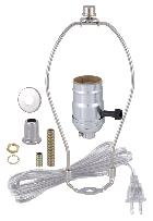 Search nickel table lamp wiring kit with 3 way socket keyboard keysfo Images