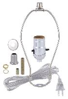 make a lamp kits bp lamp supply With lamp wiring kit with pushthru socket 30552a10 antique lamp supply