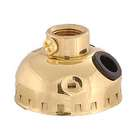 Leviton Brand Brass Socket Cap with 1/8F thread and set screw & side outlet.