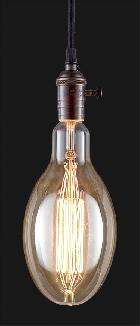 Oversized, Vintage Style ED120 Antique Light Bulb