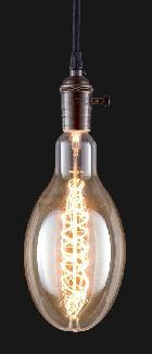 ED120, Industrial Style Antique Light Bulb