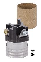 Full Keyless Medium Base Socket Interior Leviton Brand