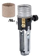 Medium Base Adjustable Height ( 4 Inch To  5 1/2 Inch) On/Off Turn-Knob Candle Socket