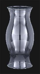 Hurricane Shade   Clear Borosilicate Glass