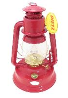 "Red and Gold Dietz Brand #1 ""Little Wizard"" Oil Lantern"