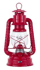 Dietz Brand #78 MARS Oil Lantern, Red w/Red Trim