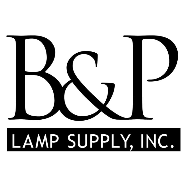 B&P Lamp Supply Wholesale Lamp Parts Logo